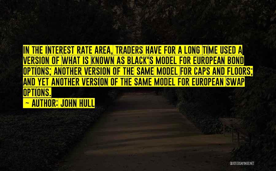 Black Caps Quotes By John Hull