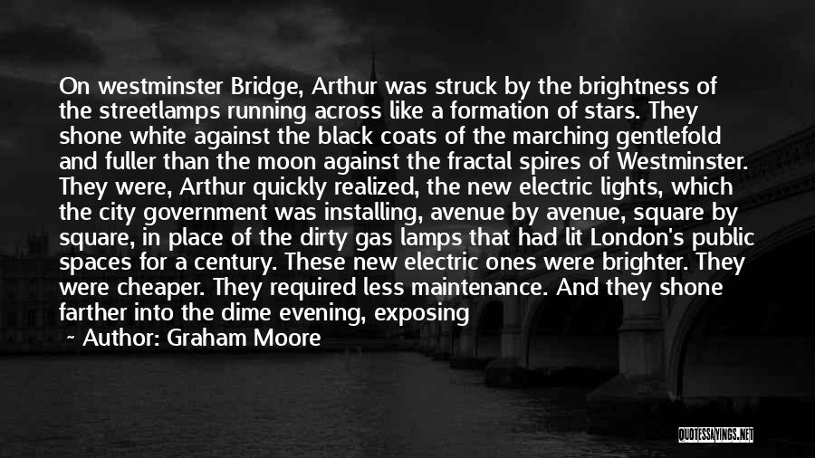 Black Coats Quotes By Graham Moore