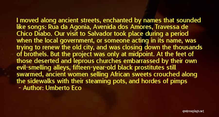 Black Coats Quotes By Umberto Eco