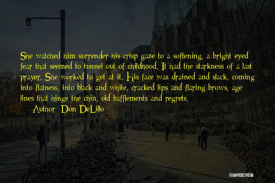 Black Eyed Please Quotes By Don DeLillo