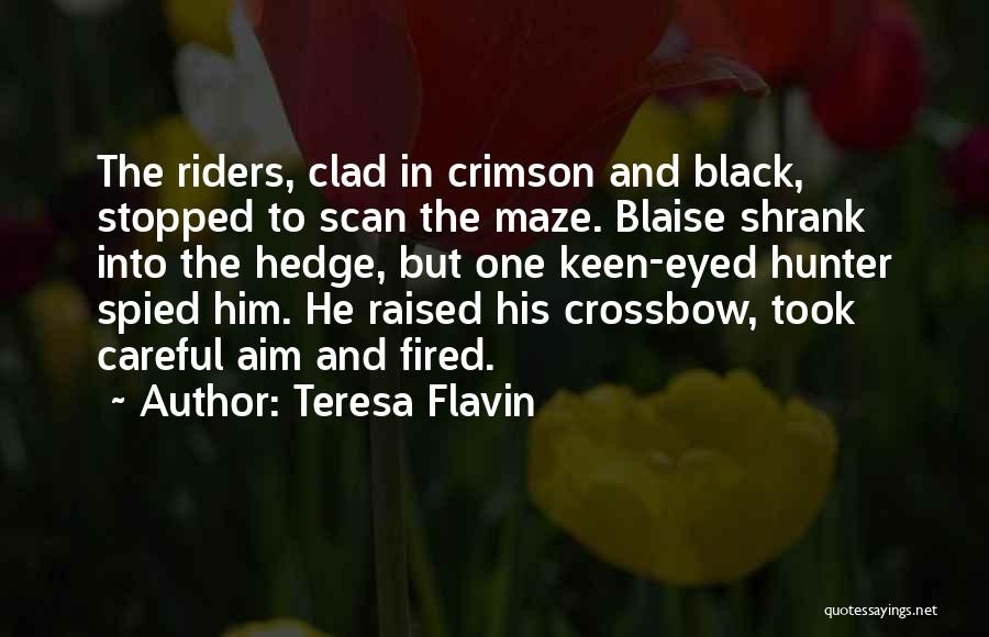 Black Eyed Please Quotes By Teresa Flavin