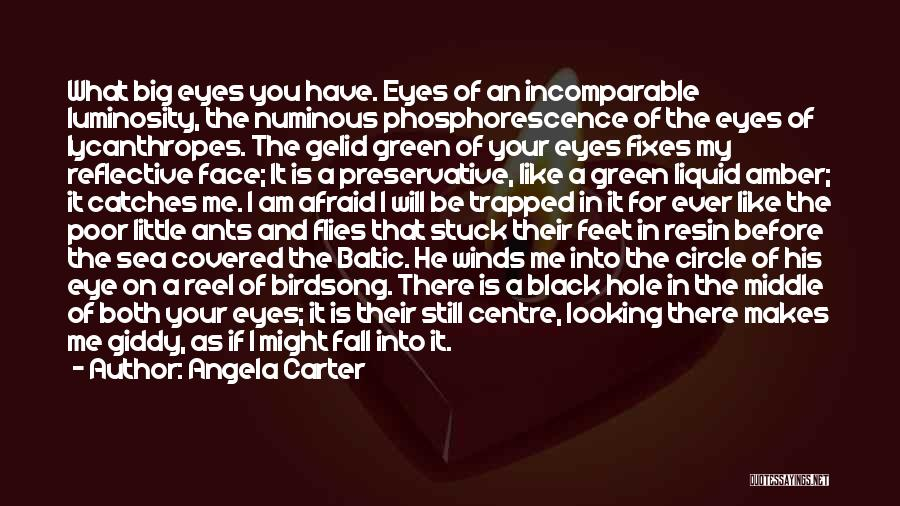 Black Eyes Quotes By Angela Carter