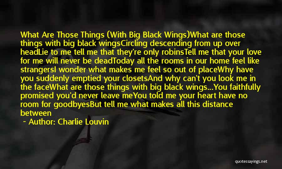 Black Eyes Quotes By Charlie Louvin