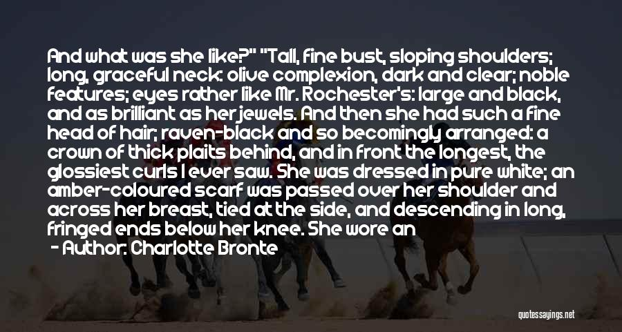 Black Eyes Quotes By Charlotte Bronte