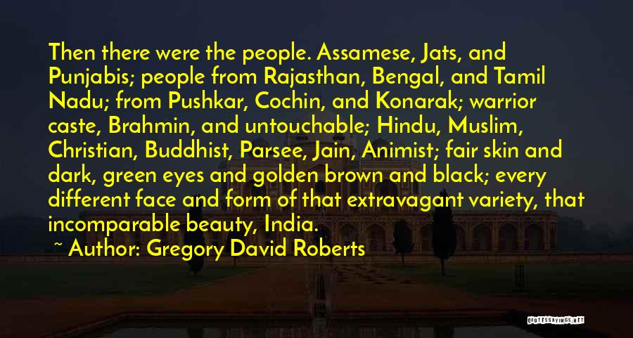 Black Eyes Quotes By Gregory David Roberts