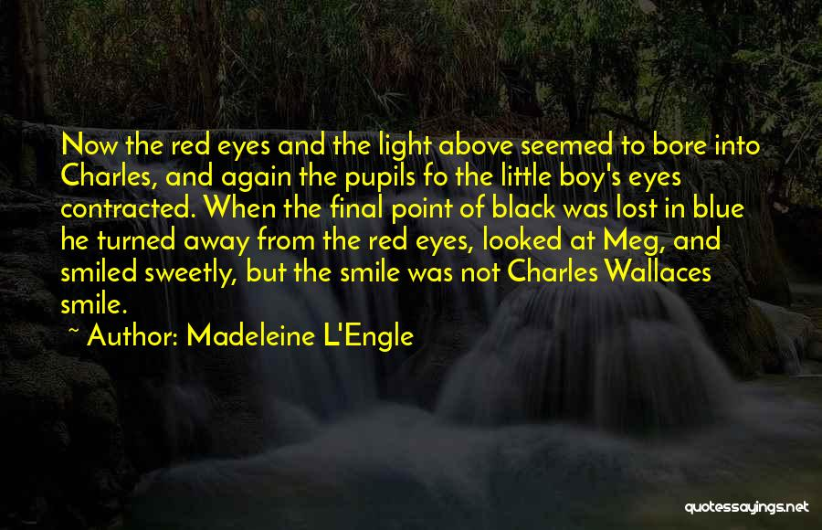 Black Eyes Quotes By Madeleine L'Engle