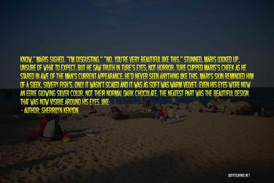 Black Eyes Quotes By Sherrilyn Kenyon