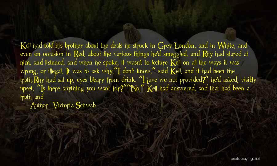 Black Eyes Quotes By Victoria Schwab