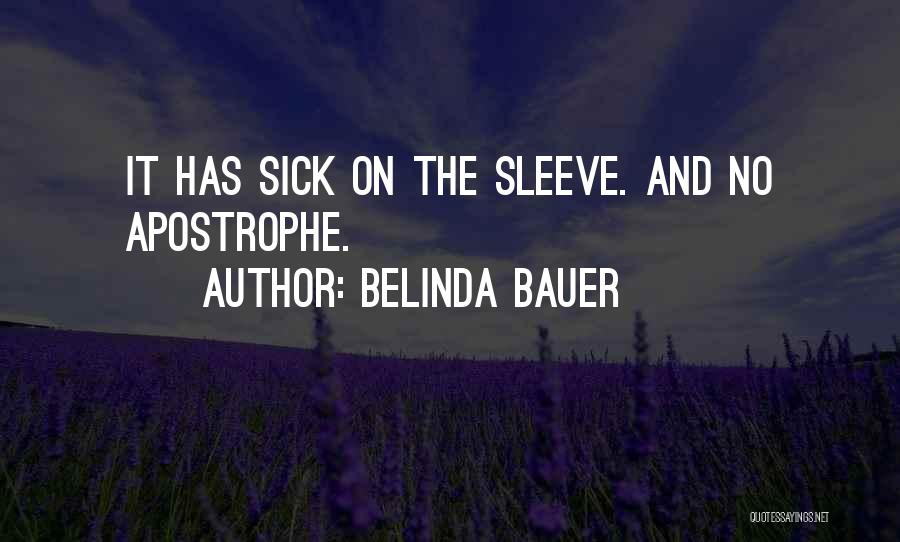 Black Humour Quotes By Belinda Bauer