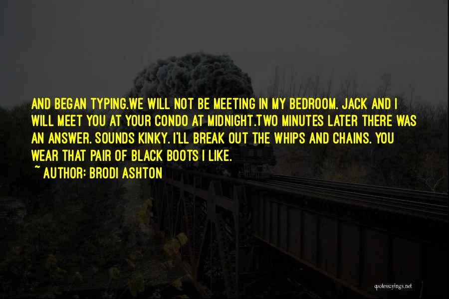 Black Humour Quotes By Brodi Ashton