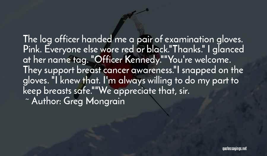Black Humour Quotes By Greg Mongrain