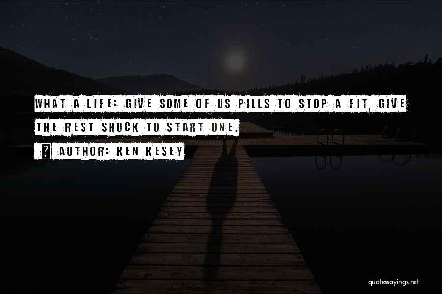 Black Humour Quotes By Ken Kesey