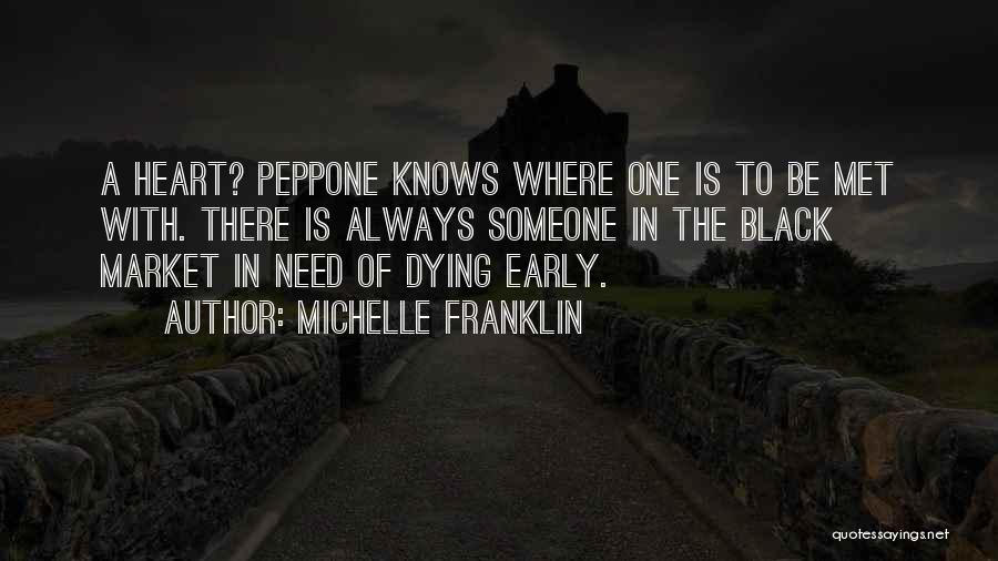 Black Humour Quotes By Michelle Franklin
