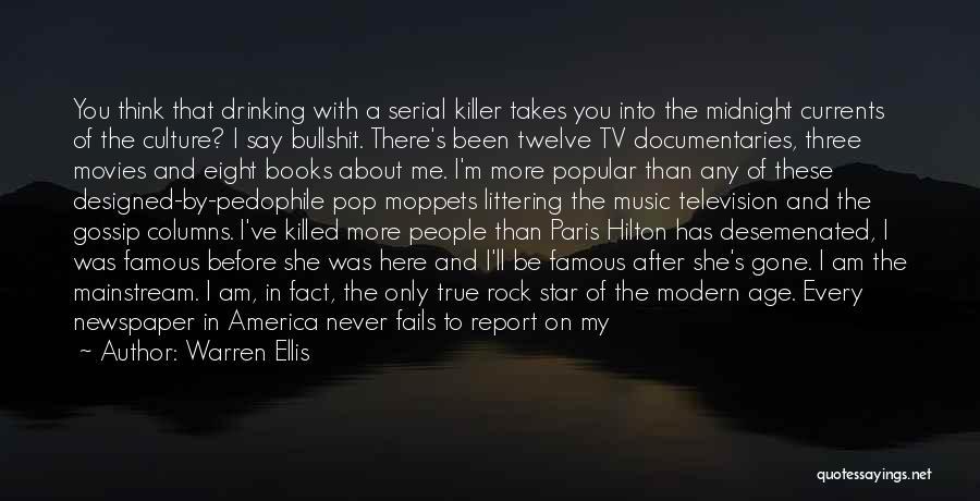 Black Humour Quotes By Warren Ellis