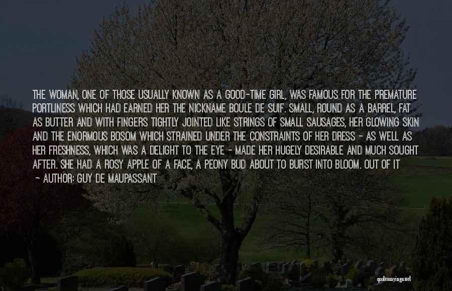 Black N White Dress Quotes By Guy De Maupassant