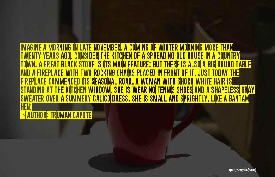 Black N White Dress Quotes By Truman Capote