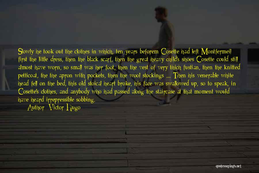 Black N White Dress Quotes By Victor Hugo