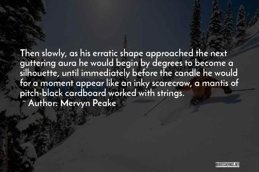 Black Silhouette Quotes By Mervyn Peake