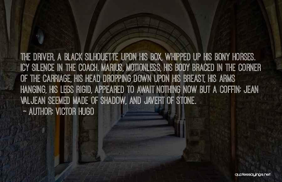 Black Silhouette Quotes By Victor Hugo