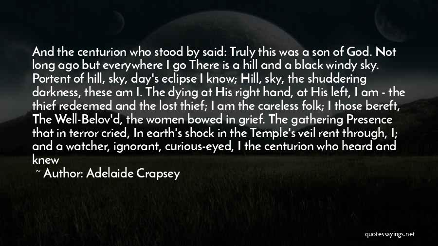 Black Son Quotes By Adelaide Crapsey