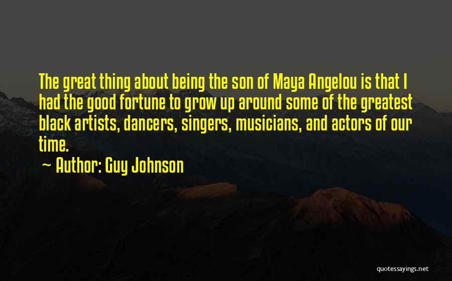 Black Son Quotes By Guy Johnson