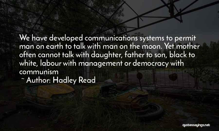 Black Son Quotes By Hadley Read