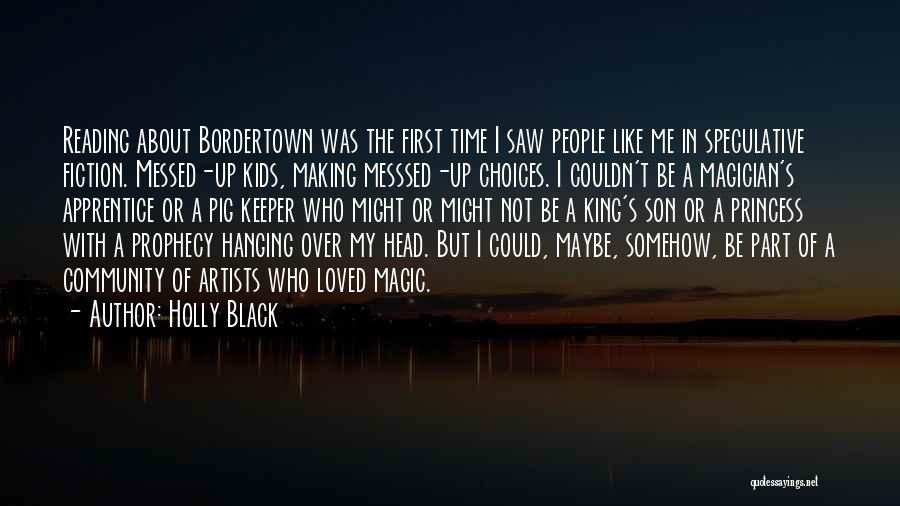 Black Son Quotes By Holly Black