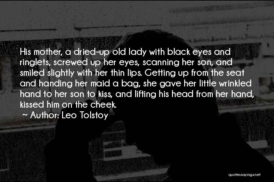 Black Son Quotes By Leo Tolstoy