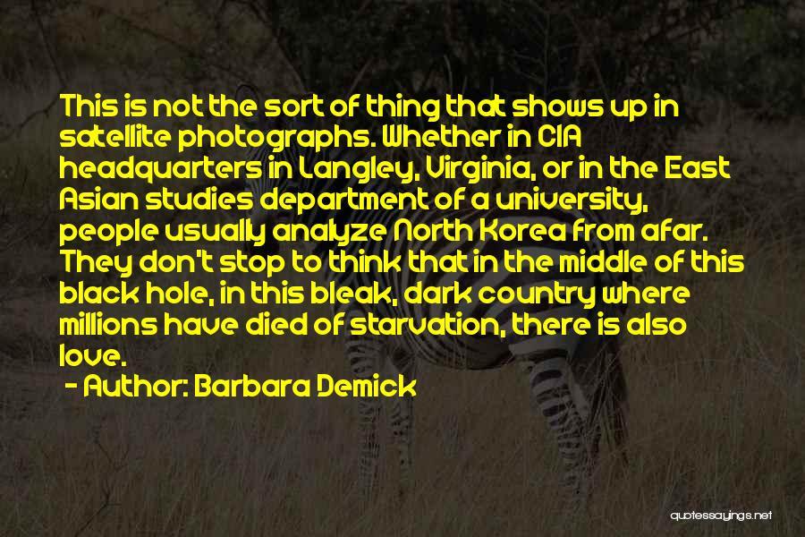 Black Studies Quotes By Barbara Demick