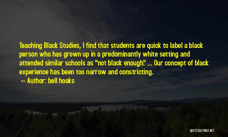 Black Studies Quotes By Bell Hooks