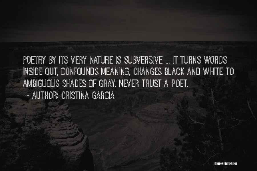 Black White And Gray Quotes By Cristina Garcia