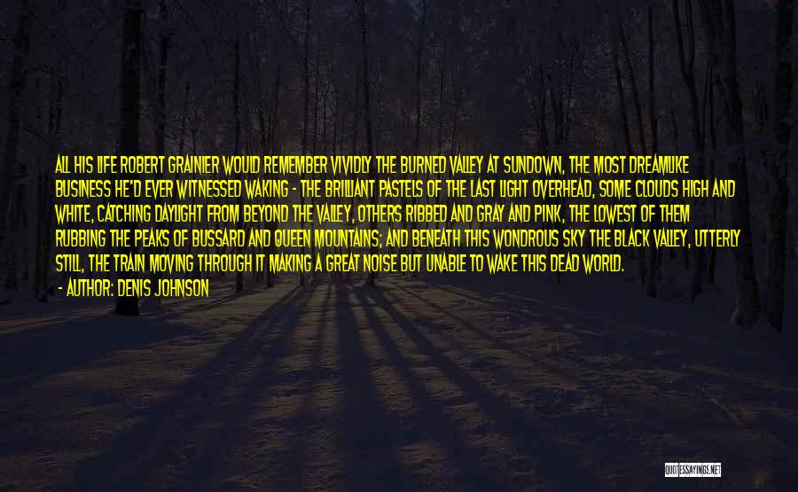 Black White And Gray Quotes By Denis Johnson