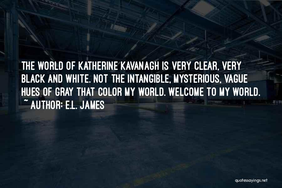 Black White And Gray Quotes By E.L. James