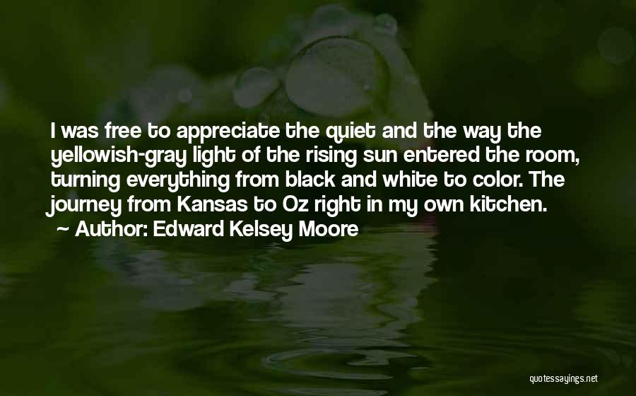Black White And Gray Quotes By Edward Kelsey Moore