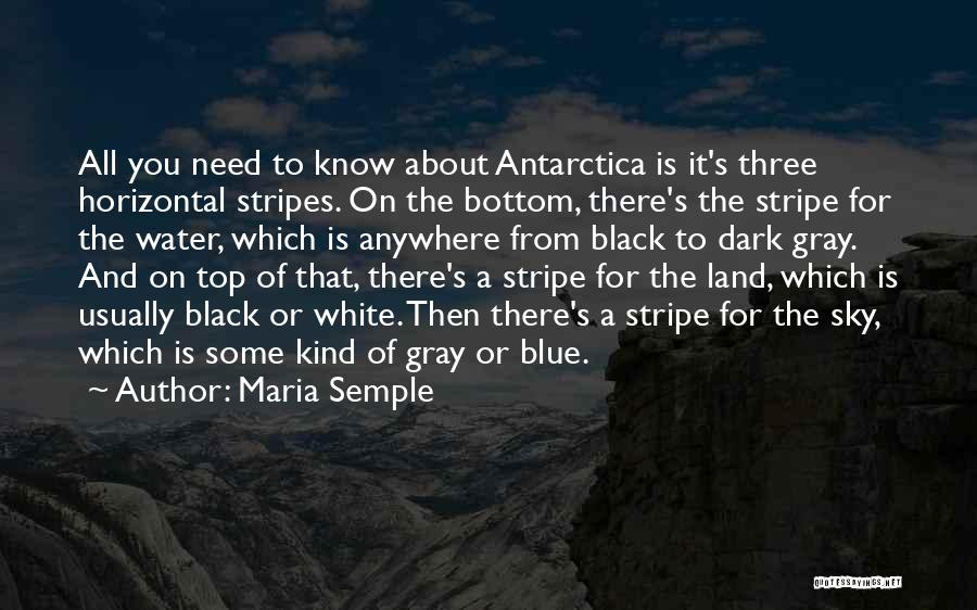 Black White And Gray Quotes By Maria Semple