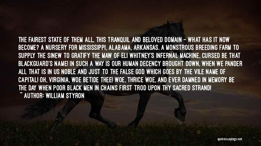 Blackguard Quotes By William Styron