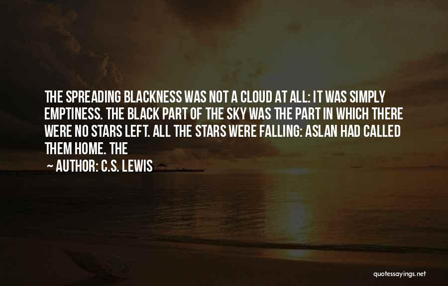 Blackness Quotes By C.S. Lewis