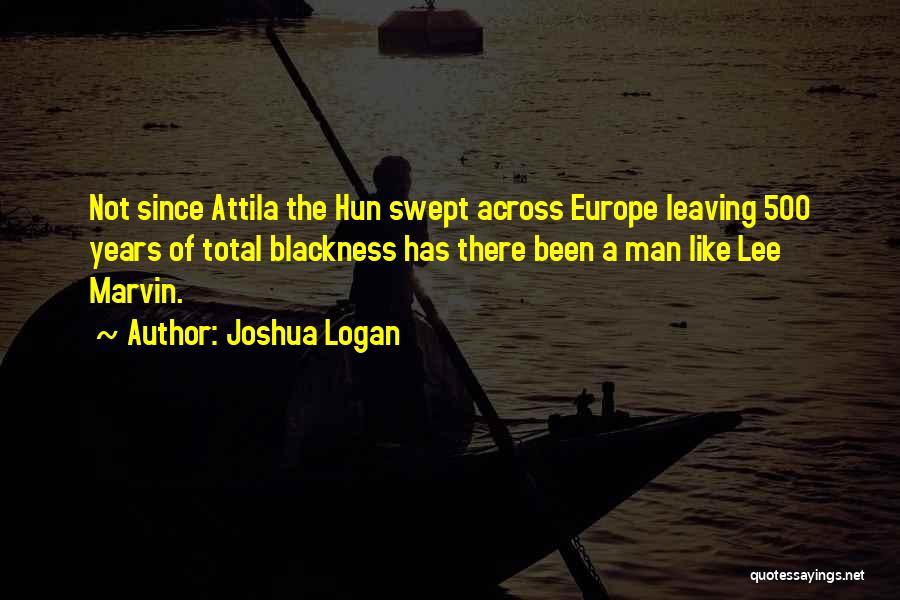 Blackness Quotes By Joshua Logan