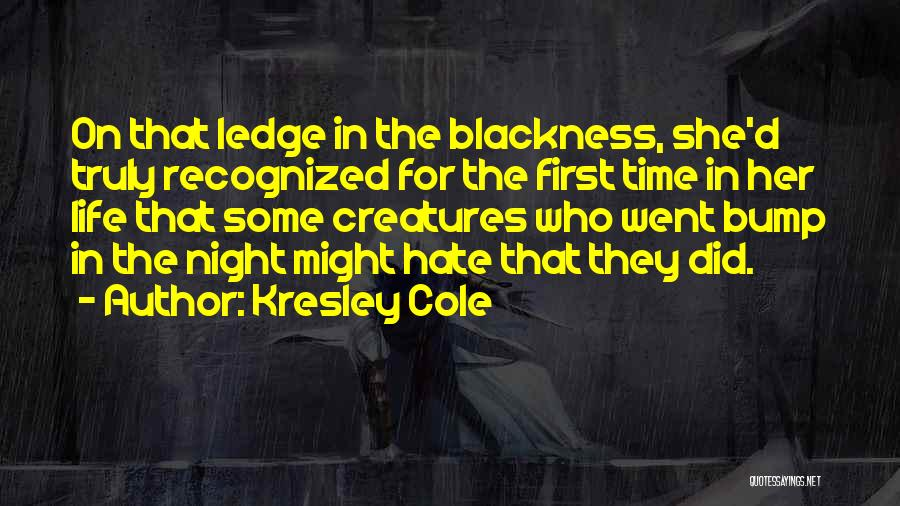 Blackness Quotes By Kresley Cole