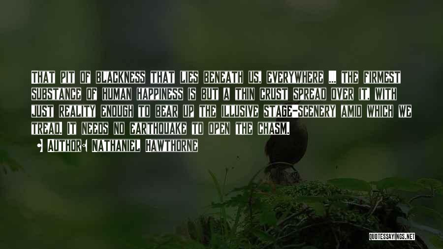 Blackness Quotes By Nathaniel Hawthorne