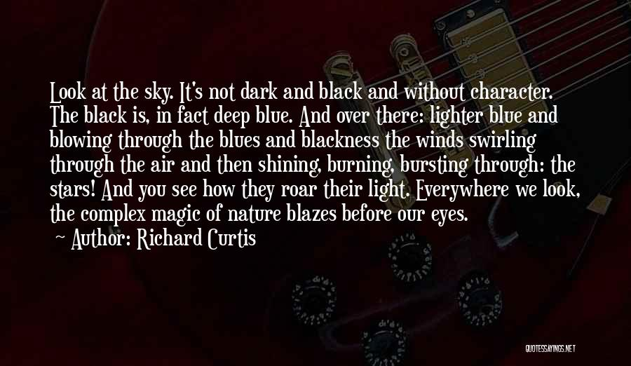 Blackness Quotes By Richard Curtis