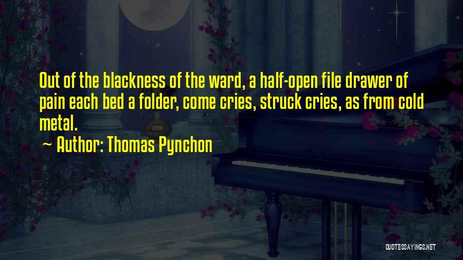 Blackness Quotes By Thomas Pynchon