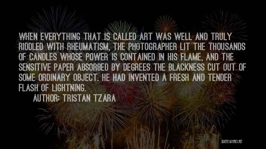 Blackness Quotes By Tristan Tzara