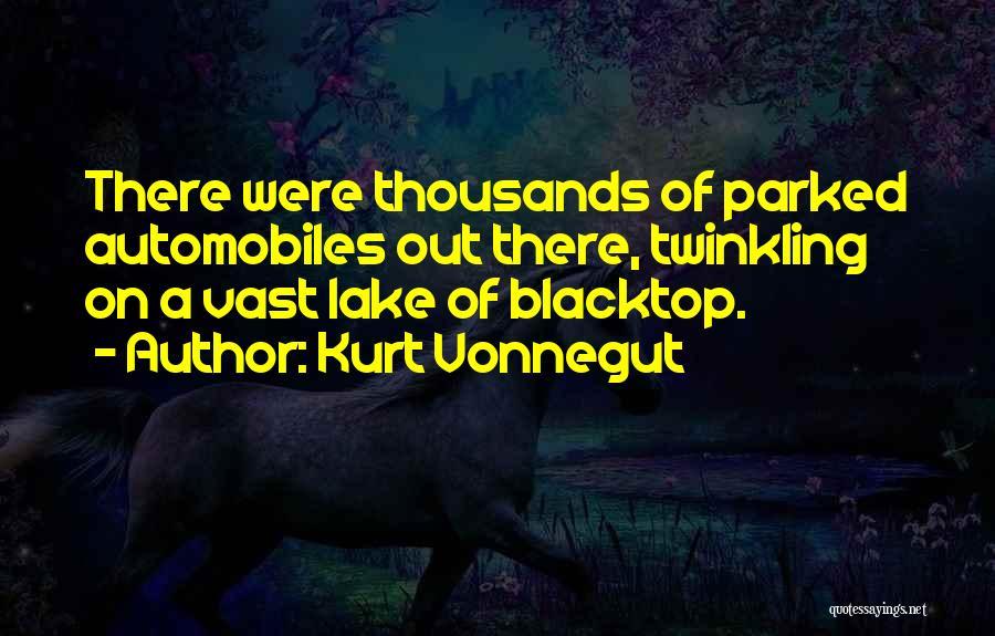 Blacktop Quotes By Kurt Vonnegut