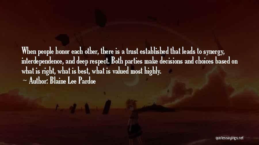 Blaine Lee Pardoe Quotes 2241835