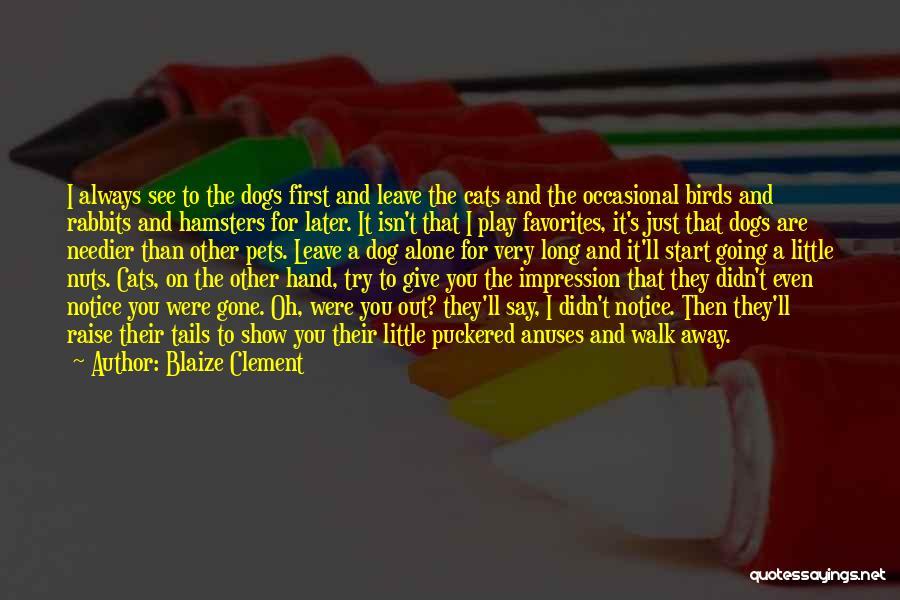 Blaize Clement Quotes 472868