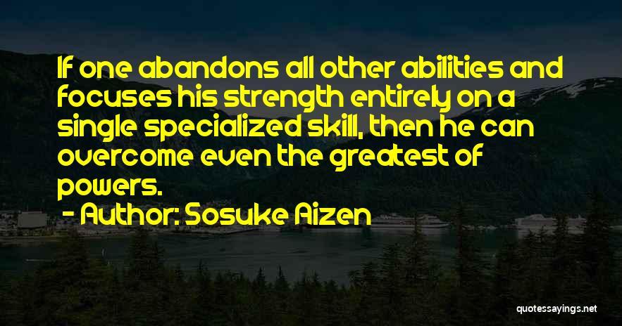 Bleach Sosuke Aizen Quotes By Sosuke Aizen