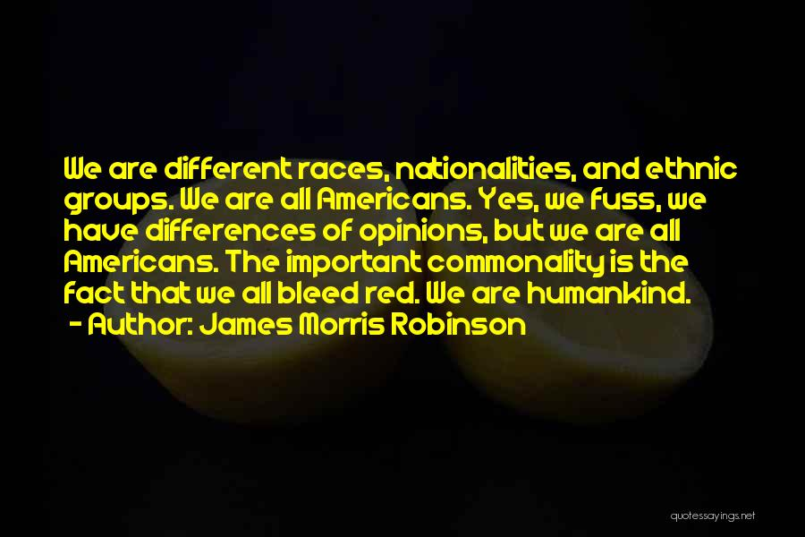 Bleed Red Quotes By James Morris Robinson