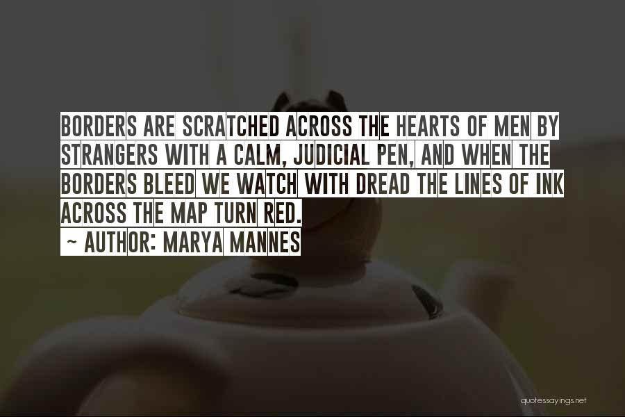Bleed Red Quotes By Marya Mannes