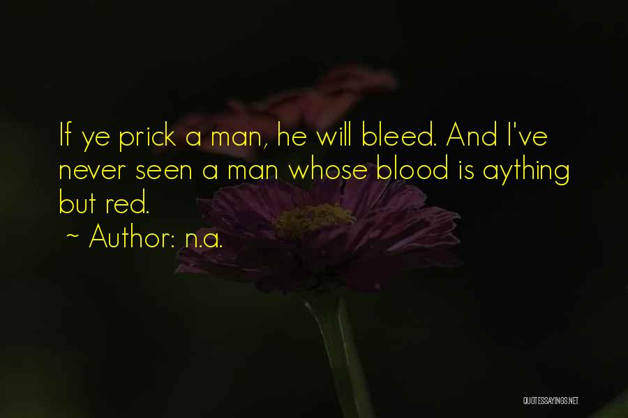 Bleed Red Quotes By N.a.